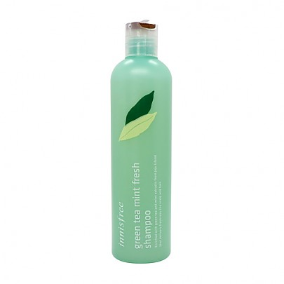 [innisfree] Green tea mint fresh shampoo 300ml