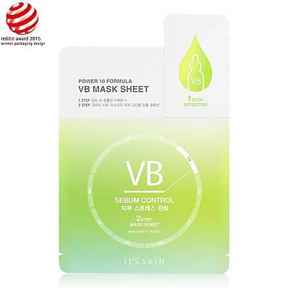 [It's Skin] Power 10 Fomula VB Mascarilla de hoja