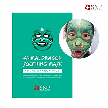 [SNP] Animal dragon wrinkle mascarilla 1EA