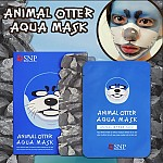[SNP] Animal otter aqua mascarilla