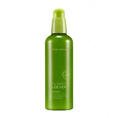 [Nature Republic] Real Squeeze Aloe Vera Emulsion 125ml