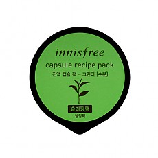 [Innisfree] Cápsula de receta pack #green tea 10ml