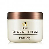 [SecretKey] Snail Repairing crema 50g (Skin Protection , Firming and Vitalizing , For Brightening)