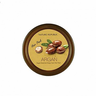 [Nature Republic] Argan Essential Deep Care Hair Pack 200ml (Nutritional Care Pack)