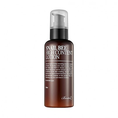 [Benton] Snail Bee High Content Lotion 120ml(Harmful ingredients free, alcohol free, water free)