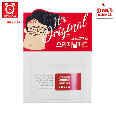 [COSRX] *Time Deal*  *Renewal* One Step Original Clear Pads