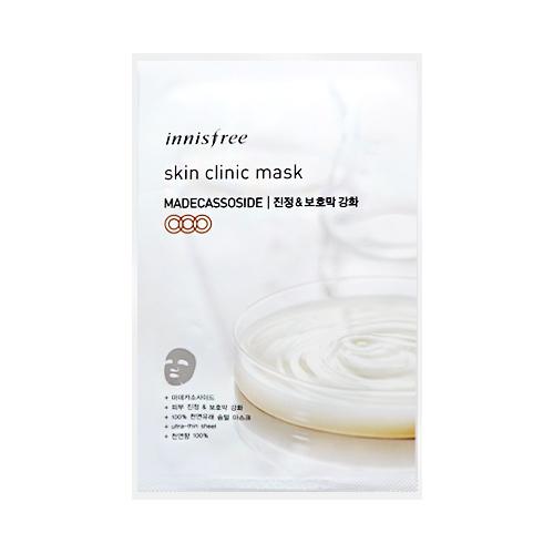 [Innisfree] Skin Clinic mascarilla Sheet (Madecassoside) 20ml