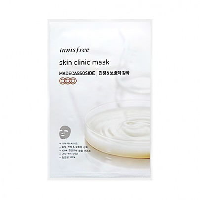 [Innisfree] Skin Clinic mascarilla Sheet (Madecassoside) 20ml