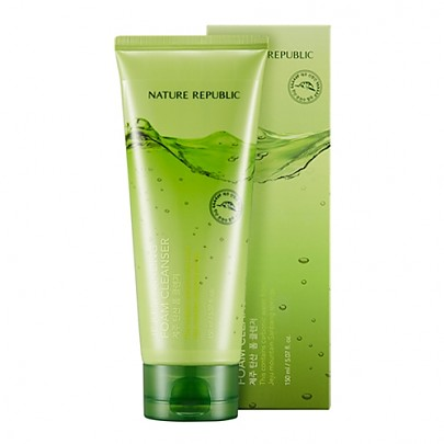 [Nature Republic] Jeju Sparkling Foam Cleanser 150ml