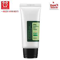 [COSRX] *Time Deal*  Aloe calmante crema solar 50ml