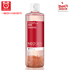 [Neogen] *Time Deal*  Real Flower Cleansing Water Rose 300ml