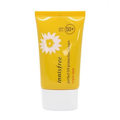 [Innisfree]Crema de UV Protección Triple Cuidado SPF50+ PA+++