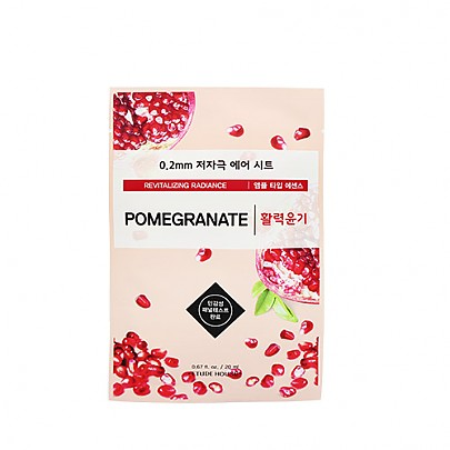 [Etude House] 0.2mm Therapy Air Mask (Pomegranate)