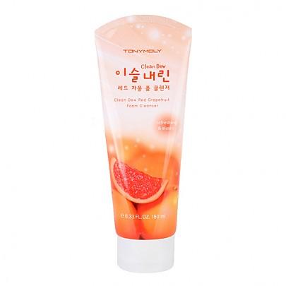 [Tonymoly] Clean Dew Grapefruit Foam Cleanser (180ml)