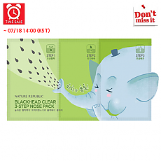 [Nature Republic] *Time Deal*  Blackhead Clear 3-Step Nose Pack