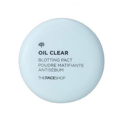 [The face shop] Oil Clear Blotting Pact