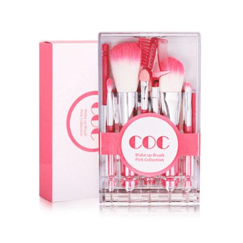 [CORINGCO] Takeout brocha Kit Make Up brocha Pink Collection