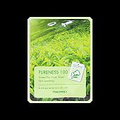 [Tonymoly] Pureness 100 mascarilla Sheet #Green tea