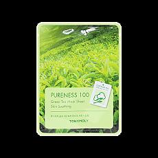 [Tonymoly] Pureness 100 Mask Sheet #Green tea