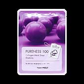 [Tonymoly] Pureness 100 mascarilla Sheet #Collagen