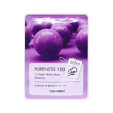 [Tonymoly] Pureness 100 mascarilla Sheet #Collagen