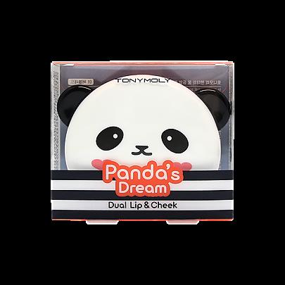 [Tonymoly] Panda's Dream Dual Lip And Cheek #01 Bubble Red
