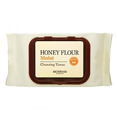 [Skinfood] Honey Flour Moist Cleansing Tissue