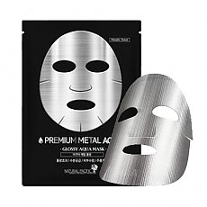 [Natural Pacific] Premium Metal #Aqua Mask (10ea)