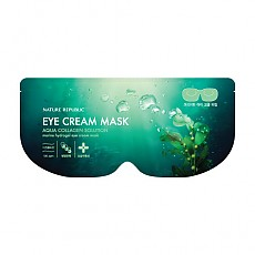 [Nature Republic] Aqua Collagen Solution Marine Hydro Gel Eye Cream mascarilla