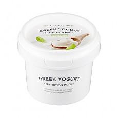 [Nature Republic] Greek Yogurt Pack #Plain (Nutrition) 130ml