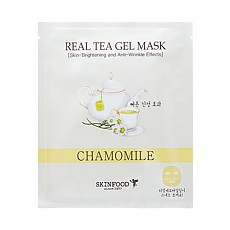 [Skinfood] Real Tea Gel mascarilla (Chamomile)
