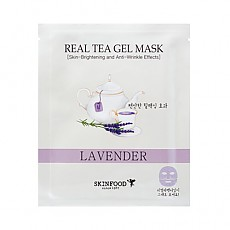 [Skinfood] Real Tea Gel Mask (Lavender)
