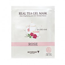 [Skinfood] Real Tea Gel mascarilla (Rose)