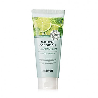 [The saem] Natural Condition Cleansing Foam #Sebum Controlling 150ml