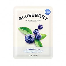 [It's Skin] The Fresh mascarilla Sheet Blueberry