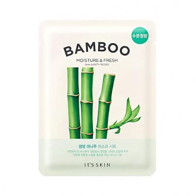 [It's Skin] Mascarilla de hoja fresca de Bambú