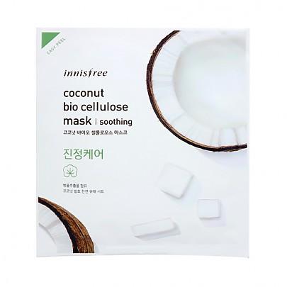 [Innisfree] Coconut Jelly mascarilla 22ml #Soothing
