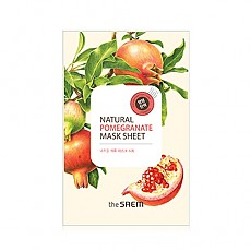 [The Saem] Natural Pomegranate Mask Sheet 1EA