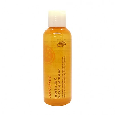 [Innisfree] Tangerine Vita C Oil Free Cleanser 150ml
