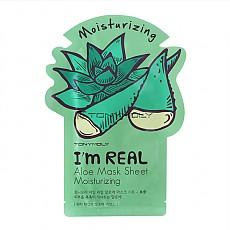 [Tonymoly] Soy REAL Mascara Hoja de Aloe Hidratante
