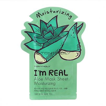 [Tonymoly] I`m REAL Aloe mascarilla Sheet Moisturizing