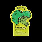 [Tonymoly] Soy REAL Mascara Hoja de Brocoli Vitalidad