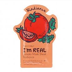 [Tonymoly] Soy REAL Mascara Hoja de Tomate Resplandor