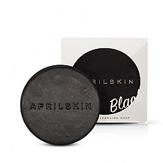 [AprilSkin] Nation's Soap Magic Stone Charcoal Soap Black