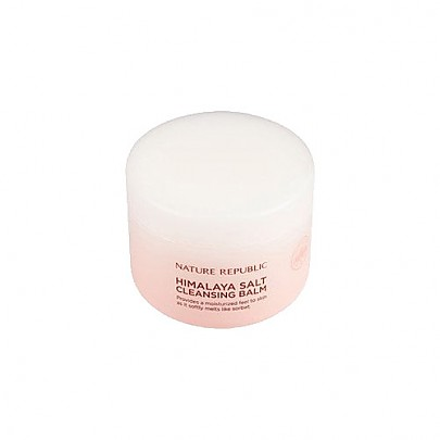 [Nature Republic] Himalaya Salt Cleasing Balm 90ml #01 pink