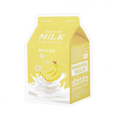 [A'PIEU] Milk One Pack #Banana Milk