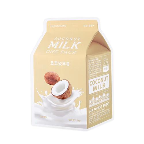 [A'PIEU] Milk One Pack #Coconut Milk