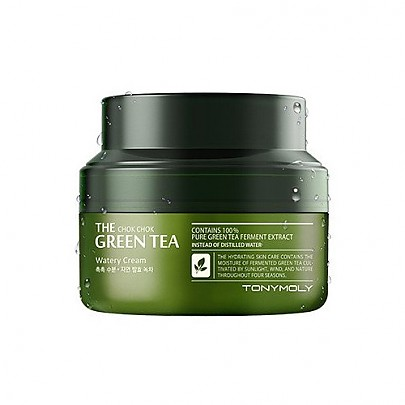 [Tonymoly] The Chok Chok Green Tea Watery Moisture Cream60ml