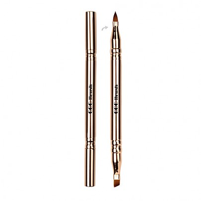 [CORINGCO] 201 Multi 4 Type Eye & Lip Brush (Gold)