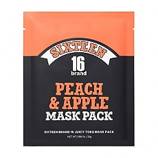 [Chosungah16] Juicy Toks Mask Pack (Peach & Apple) 1ea